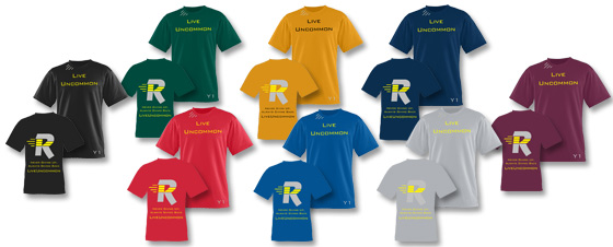 Wicking T-Shirt colors