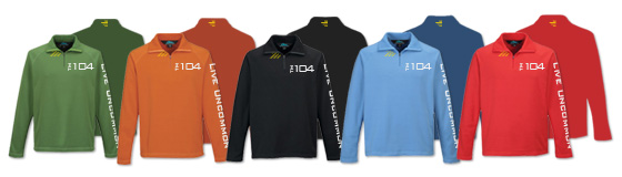 Available Mens Heavyweight Half-Zip Pullover Colors