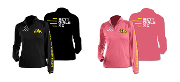 BHS XC Ladies Pullover Color Options