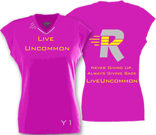 Hot Pink Wicking Ladies Rally Jersey